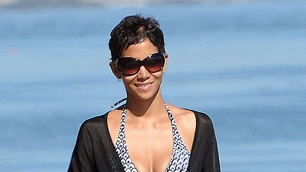 Halle Berry, 53, Channels Her 'James Bond' Character 18 Years Later In Tiny Orange Bikini — See Pic