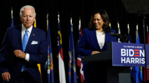 Kamala Harris Tears Up Recalling Beau Biden As She Joins Joe For 1st Joint Event