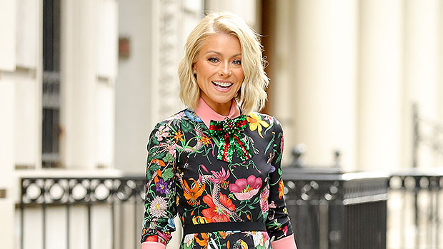 Kelly Ripa, 49, Reveals How Long Her Grey Hair Have Gotten In Quarantine: Before & After Pics