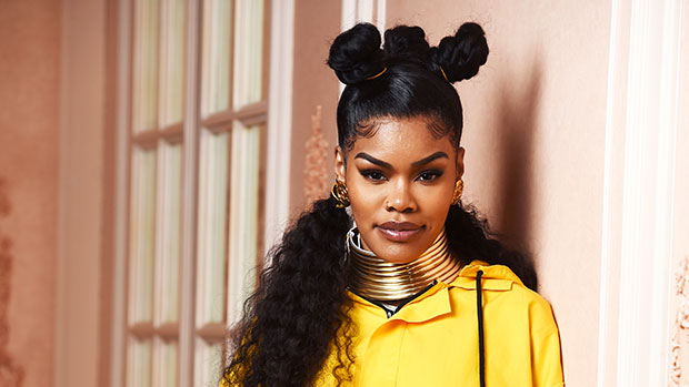 Teyana Taylor Shows Off Her Au Naturel Baby Bump While 'Getting Some Vitamin' For Her 'Babygirl' — Pics