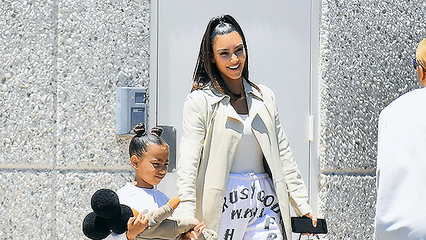 Kim Kardashian Bonds With North West, 7, On Paddleboarding Trip — Cute Pics