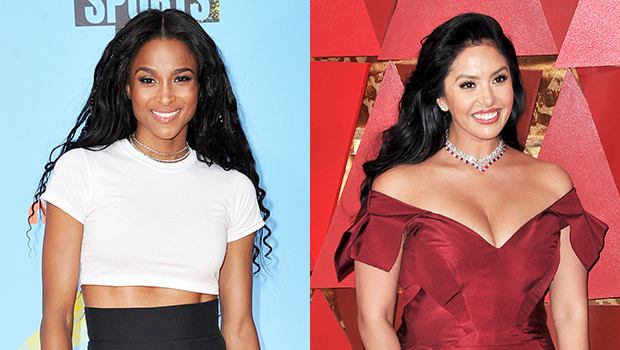 Ciara Snuggles Up To Vanessa Bryant & Adorable Daughters To Support Them On Mamba Day — Pic