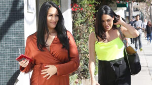 Nikki Bella Jokes About 'Beating' Brie To Give Birth & Raves Over Motherhood: 'I'm In Heaven'