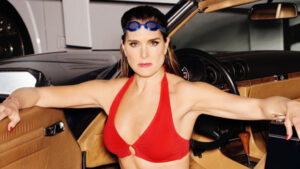 Brooke Shields, 55, Leaps From A Boat While Swimming In Sexy Black Bathing Suit — Watch