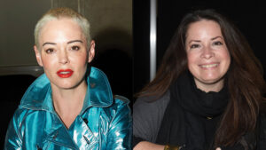 Rose McGowan & Holly Marie Combs Have 'Charmed' Reunion & Call Out Alyssa Milano's Feud With Shannen Doherty