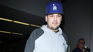 Rob Kardashian Goes Shirtless In Handsome New Selfie After A 'Great Weekend' By The Pool