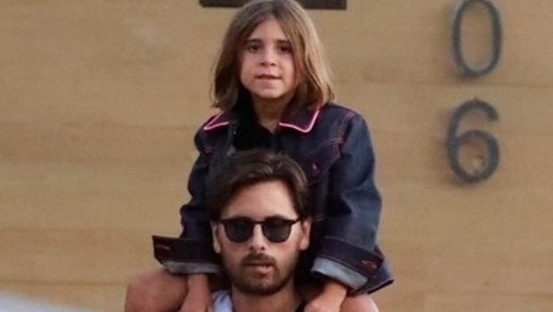 Scott Disick Cuddles Up To Daughter Penelope, 8, In Malibu: 'My Little Beach Baby' — Pic