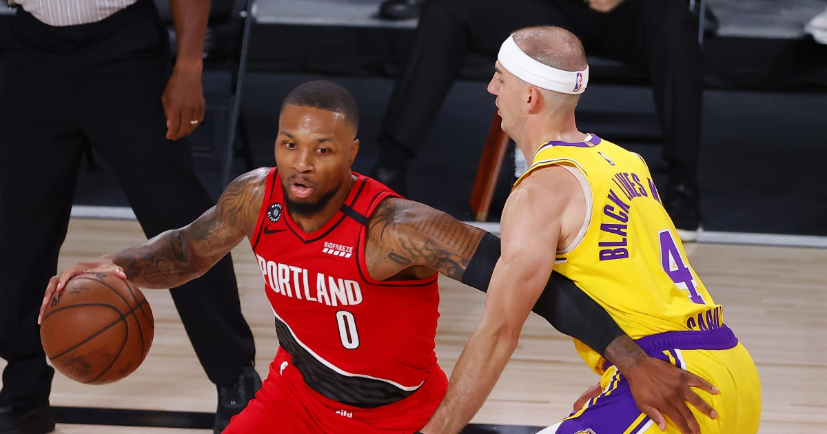 Lakers know they can't feel comfortable, especially with Damian Lillard lurking