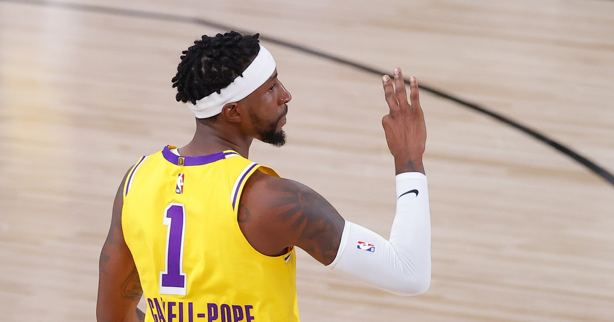 Kentavious Caldwell-Pope finds redemption with his hot shot in Lakers' win