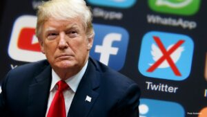 Facebook, Twitter censors Trump 'at their peril,' GOP official says