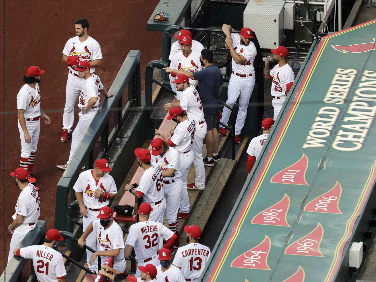 Cubs-Cardinals series postponed after another St. Louis player tests positive for coronavirus
