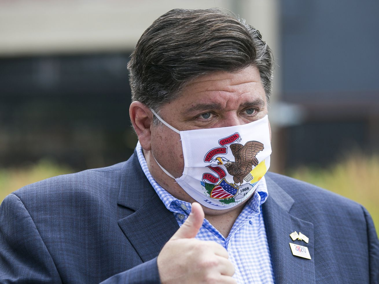 Pritzker wins mask face-off: Enforcement rule for businesses survives challenge as state reports 1,549 more COVID-19 cases