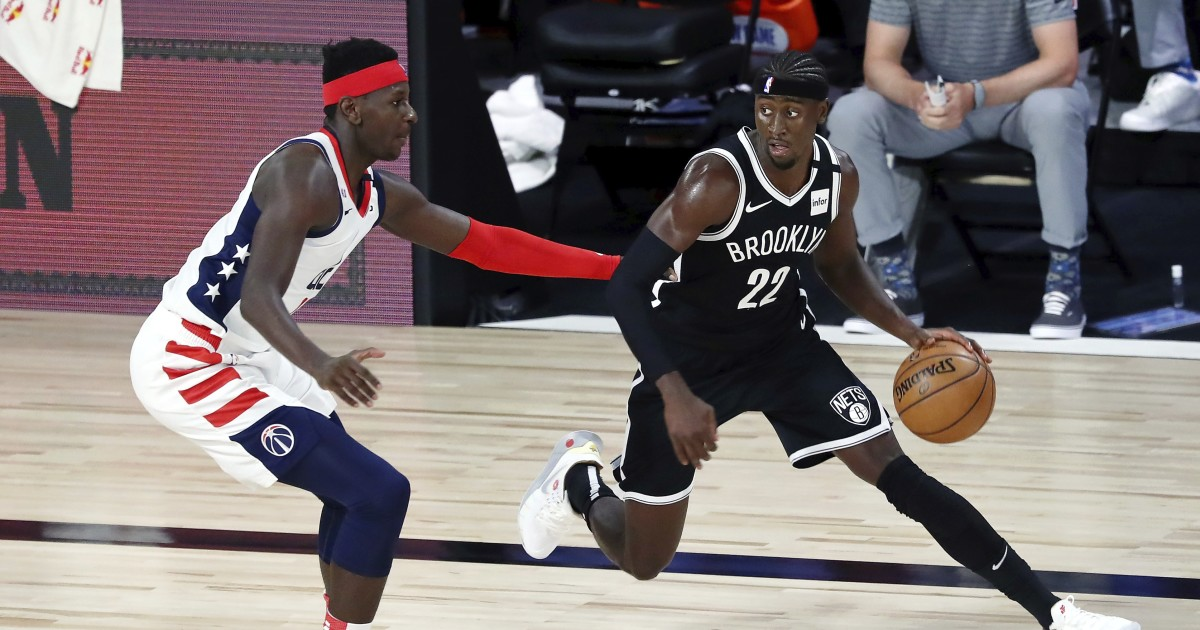 NBA roundup: Caris LeVert leads Nets to victory over Wizards
