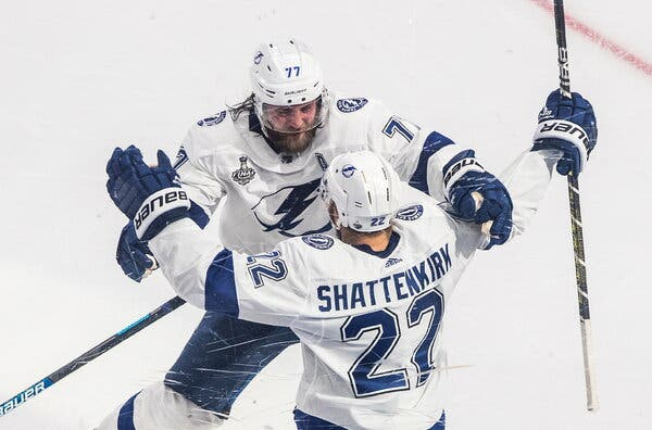 Lightning Have Championship in Sights After Winning Third Straight Game