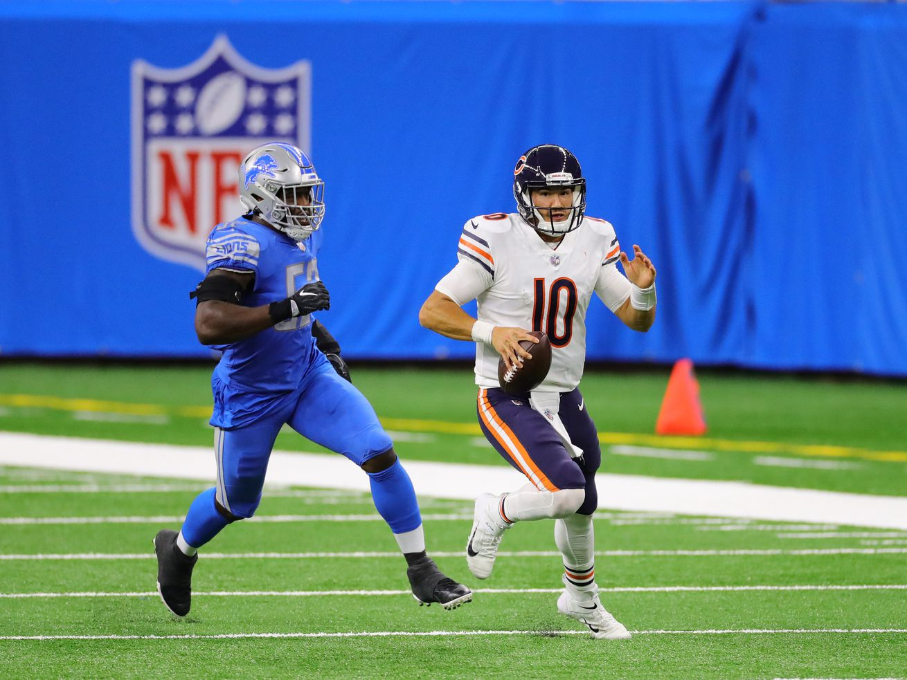 Polling Place: How will Bears QB Mitch Trubisky fare in Week 2 against the Giants?
