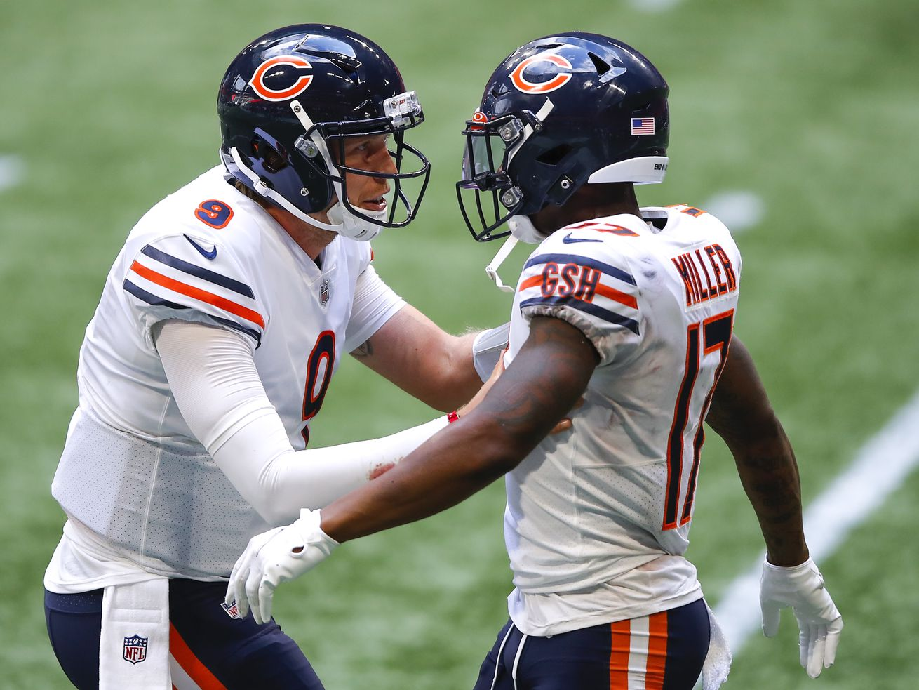 Better late than never: Mitch Trubisky gets benched, watches Nick Foles lead Bears to victory