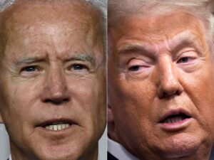 Watch live: First presidential debate between Donald Trump and Joe Biden with live fact-checking