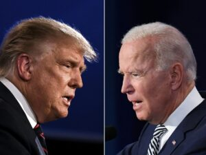 Trump, Biden lash out, interrupt during first presidential debate