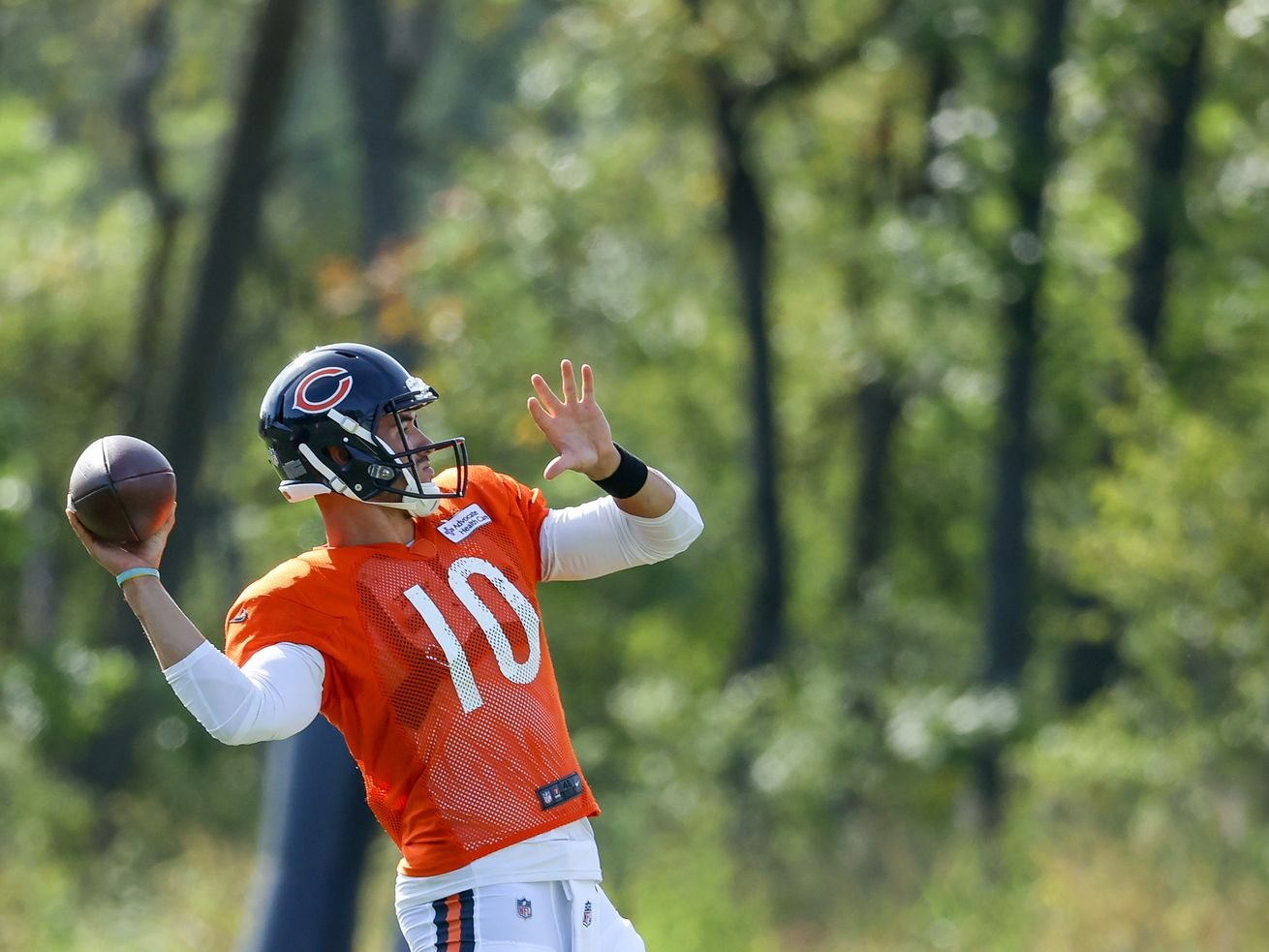 From hype to hope: Bears GM Ryan Pace affirms his belief in Mitch Trubisky