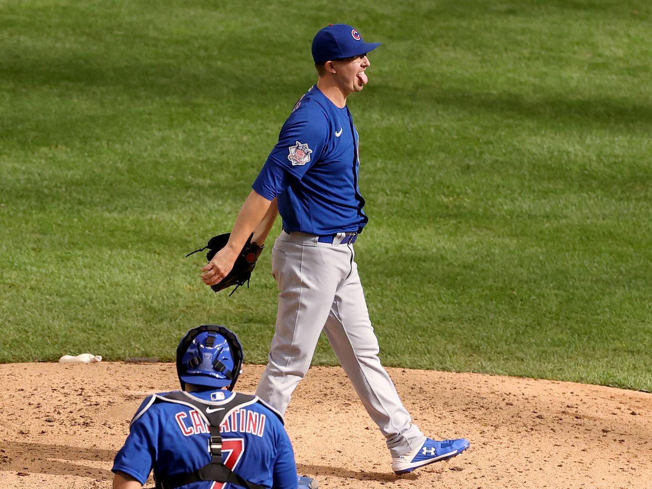Cubs' Alec Mills celebrates no-hitter with dinner from one of Chicago's iconic pizza joints