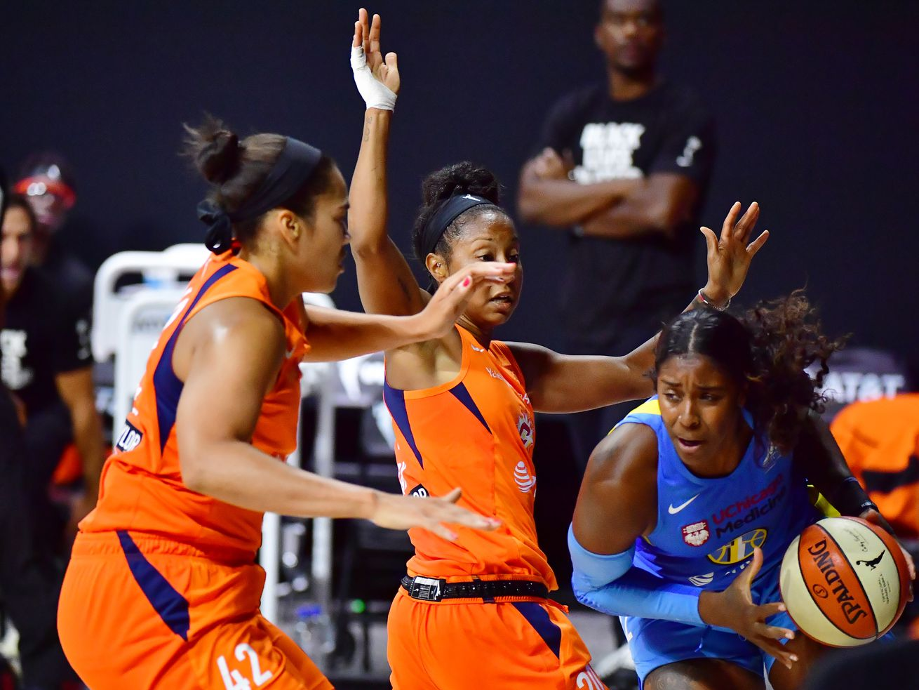 Sky knocked out of WNBA playoffs in first round by Sun