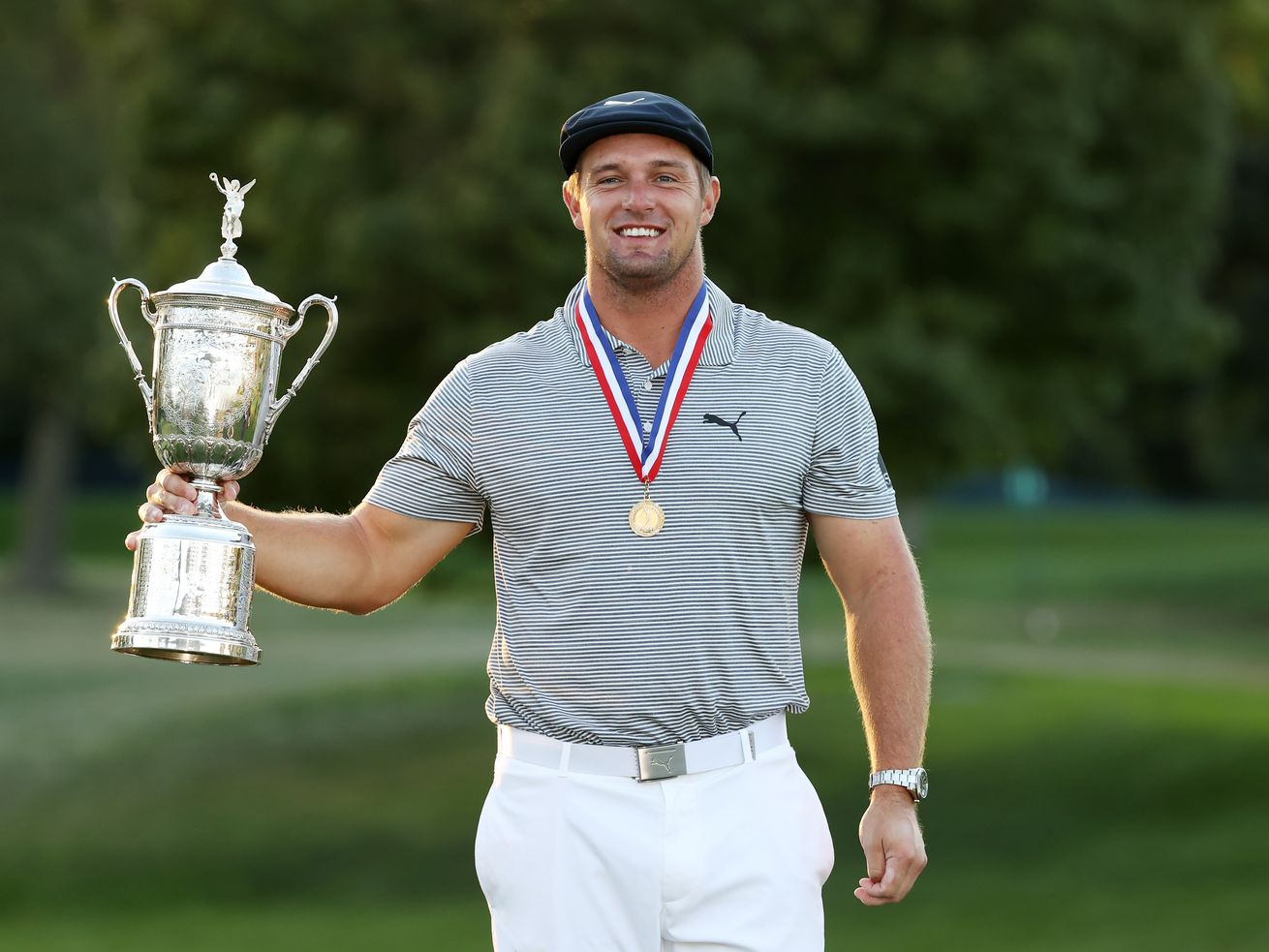 Bryson DeChambeau closes with 67, cruises to U.S. Open victory