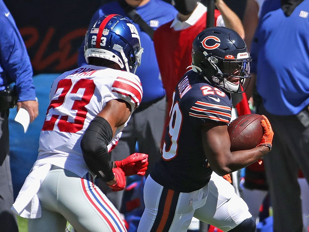 Bears' Tarik Cohen out for year with torn ACL