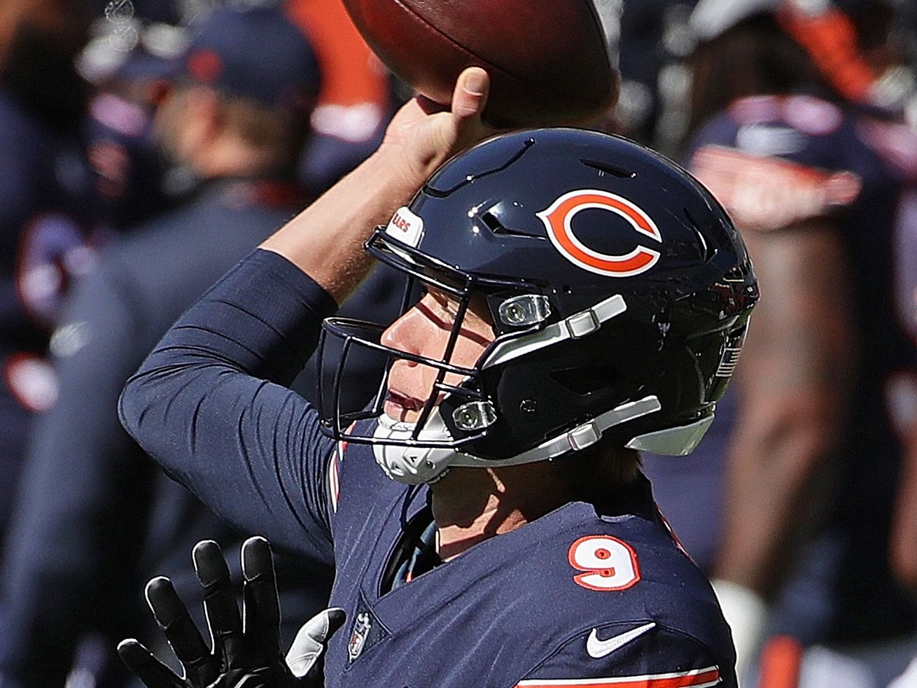 Bears replace QB Mitch Trubisky with Nick Foles