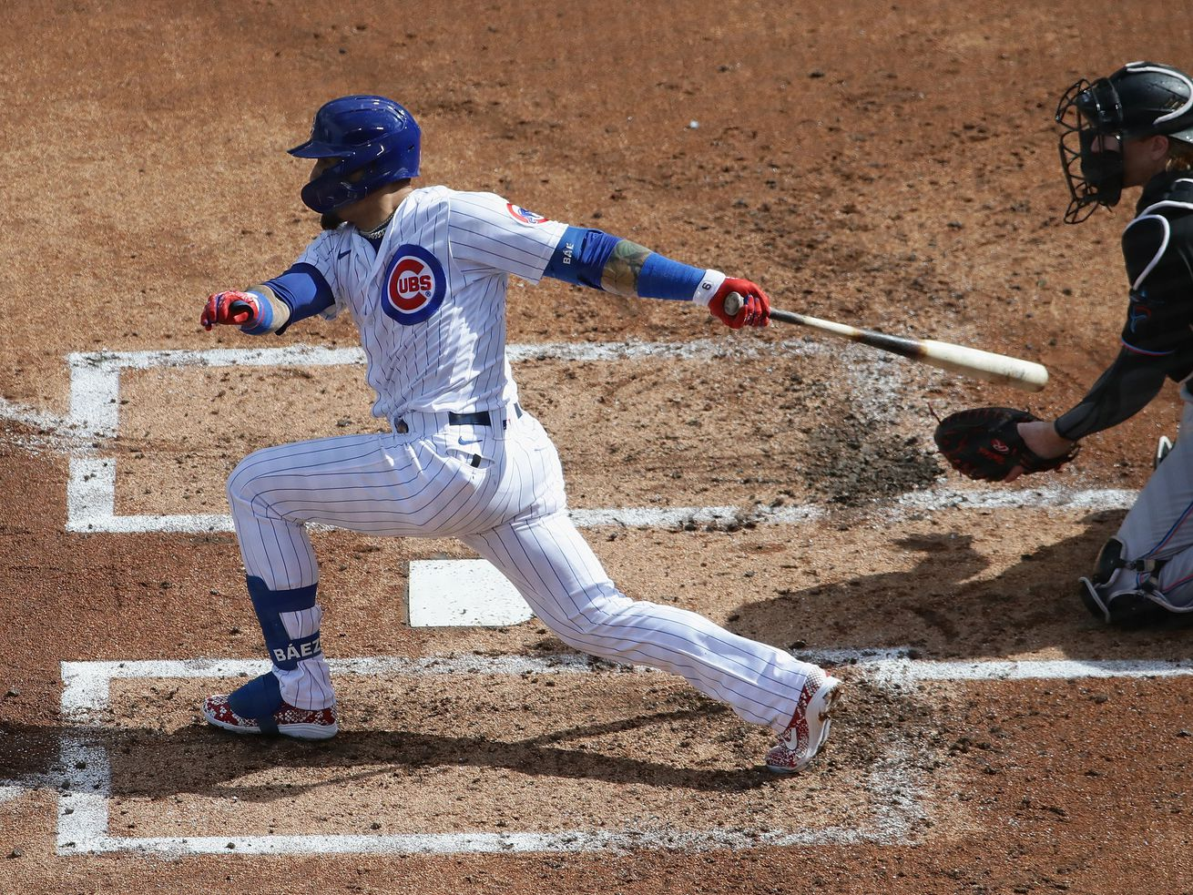 How else to say it after Cubs' 5-1 loss to the Marlins in Game 1? They just can't hit