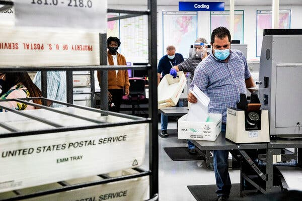 Fact-Checking Falsehoods on Mail-In Voting
