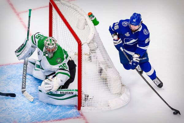 Behind Their Power Play, Lightning Even the Series