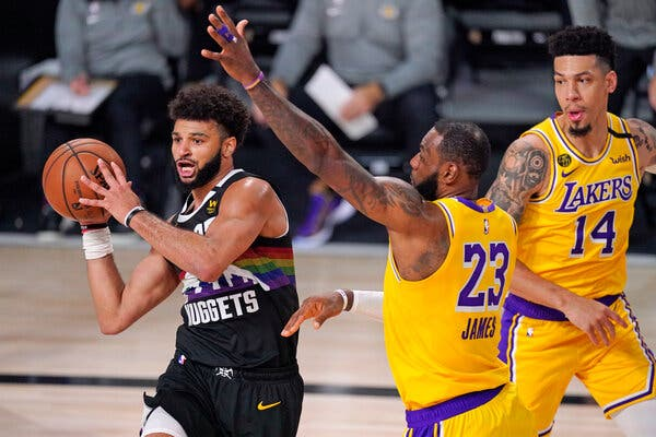 Jamal Murray Gets the Acclaim, but the Lakers Close In on the Series