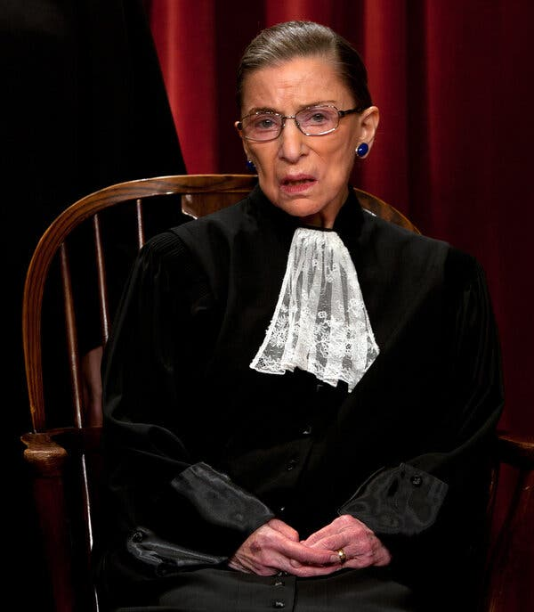 Ruth Bader Ginsburg's Lace Collar Wasn't an Accessory, It Was a Gauntlet