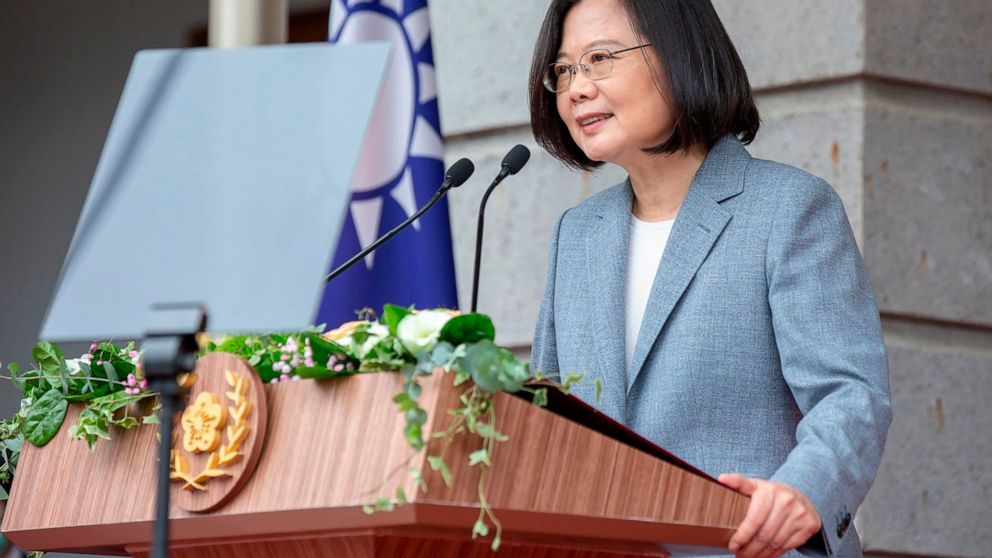 US envoy leading second recent high-level visit to Taiwan