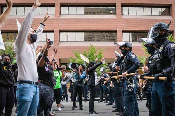 'There are Breonnas everywhere': Protests for Breonna Taylor in Pictures