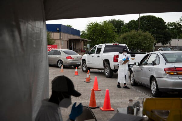 Conflicting Virus Data in Texas Raises Distrust of the Government