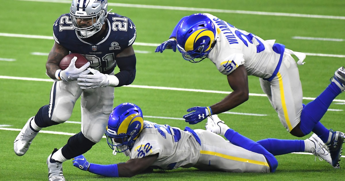 Rams rookie safety Jordan Fuller says his first NFL game was a surreal experience
