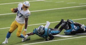 Chargers' 21-16 home loss to Carolina Panthers by the numbers
