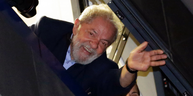 Former Brazil President Lula offers to back any candidate who can beat Bolsonaro in election