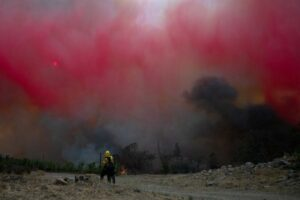 Northern California wildfires kill three, force evacuation of thousands