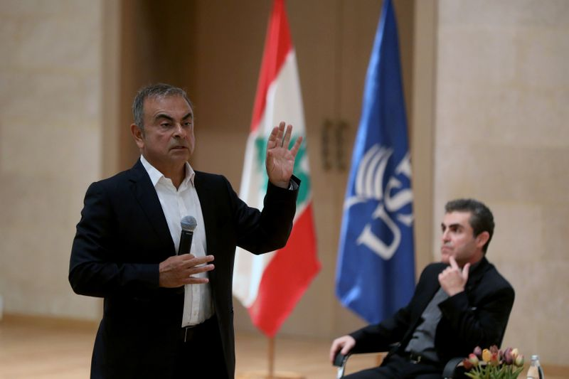 'Make yourself invaluable': Carlos Ghosn offers executive training in troubled Lebanon
