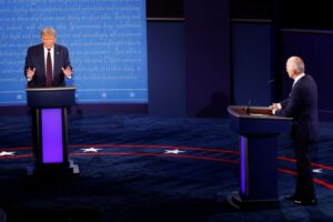 First U.S. presidential debate fails to move investors