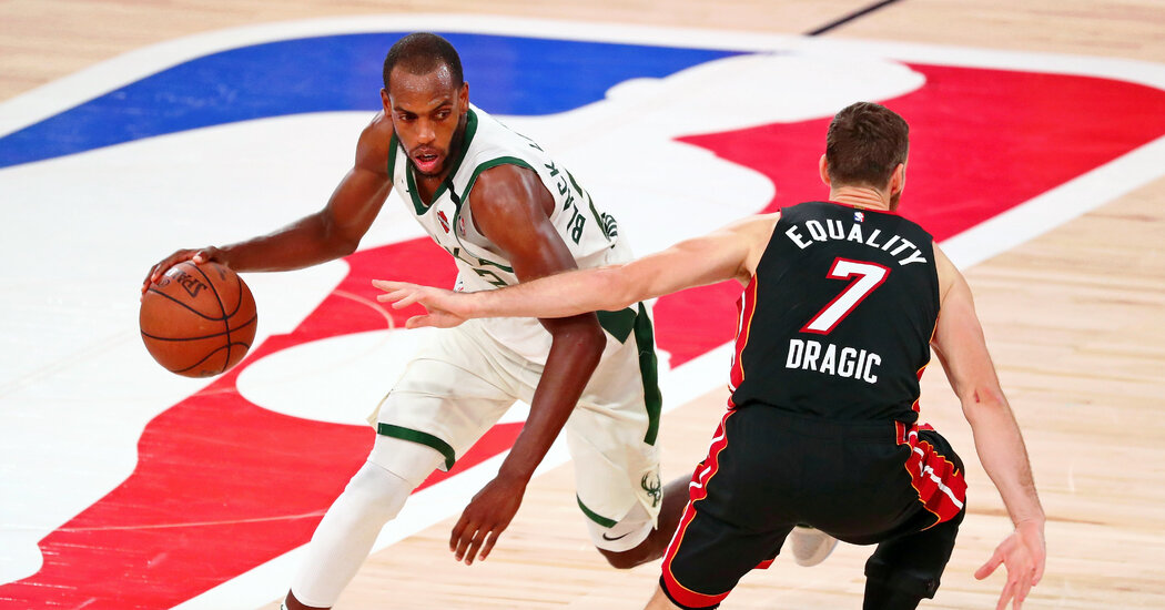 Short-Handed Bucks Hold Off Heat to Force Game 5