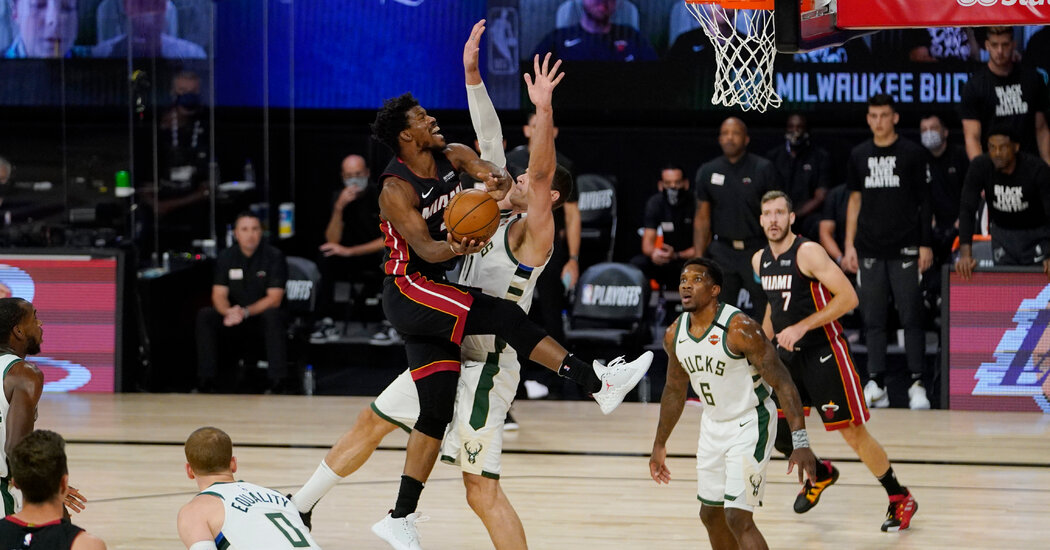 Milwaukee Bucks Are Eliminated From the Playoffs by the Miami Heat
