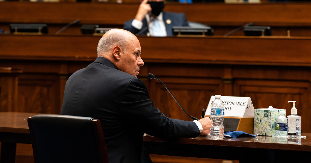 Postal Service to Tap Republican Lobbyist to Quell Mounting Scrutiny