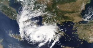 Cyclone Batters Greek Islands as It Makes Landfall