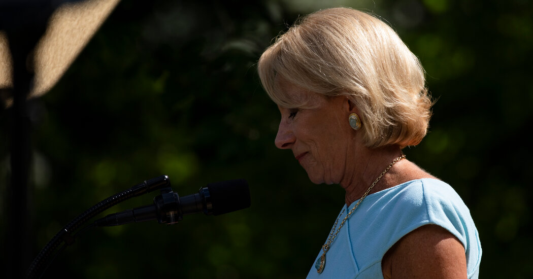 DeVos to Be Investigated for Potential Violation of Ethics Law
