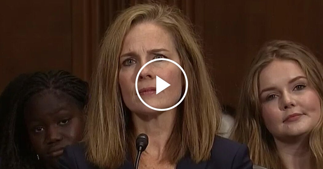 The 'Dogma' Question That Made Amy Coney Barrett a Conservative Hero