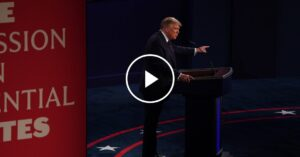 Trump Is Asked About Taxes in Debate