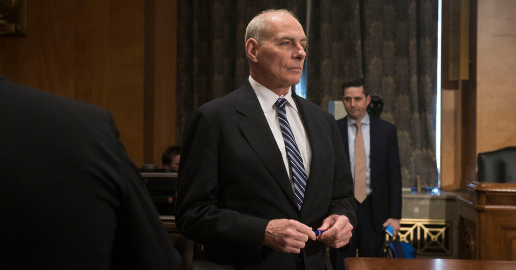 John Kelly, at Center of Report on Trump Disparaging U.S. Soldiers, Keeps Silent